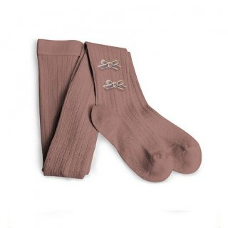 <img class='new_mark_img1' src='//img.shop-pro.jp/img/new/icons14.gif' style='border:none;display:inline;margin:0px;padding:0px;width:auto;' />Collegien「Capucine Velvet Bows Tights - Praline」
