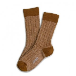 <img class='new_mark_img1' src='//img.shop-pro.jp/img/new/icons14.gif' style='border:none;display:inline;margin:0px;padding:0px;width:auto;' />Collegien「Grain de Caviar Socks - Moutard」