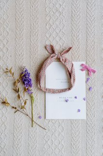 <img class='new_mark_img1' src='//img.shop-pro.jp/img/new/icons14.gif' style='border:none;display:inline;margin:0px;padding:0px;width:auto;' />HAPPYOLOGY「Cilla Headband (Orange Tree)」2020-AW
