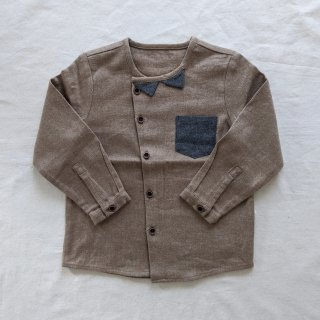 <img class='new_mark_img1' src='//img.shop-pro.jp/img/new/icons14.gif' style='border:none;display:inline;margin:0px;padding:0px;width:auto;' />HAPPYOLOGY「Kensington Shirt (Camel)」2020-AW