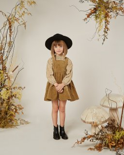 <img class='new_mark_img1' src='//img.shop-pro.jp/img/new/icons14.gif' style='border:none;display:inline;margin:0px;padding:0px;width:auto;' />Rylee and Cru「corduroy pinafore (goldenrod)」2020-AW