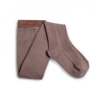 <img class='new_mark_img1' src='//img.shop-pro.jp/img/new/icons14.gif' style='border:none;display:inline;margin:0px;padding:0px;width:auto;' />Collegien「Angélique Pointelle Merino Wool Tights - Praline」