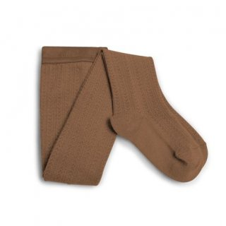 <img class='new_mark_img1' src='//img.shop-pro.jp/img/new/icons14.gif' style='border:none;display:inline;margin:0px;padding:0px;width:auto;' />Collegien「Angélique Pointelle Merino Wool Tights - Caramel」