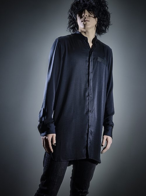 2017SPRING ×PARADOX LONG SHIRTS 【BLACK】