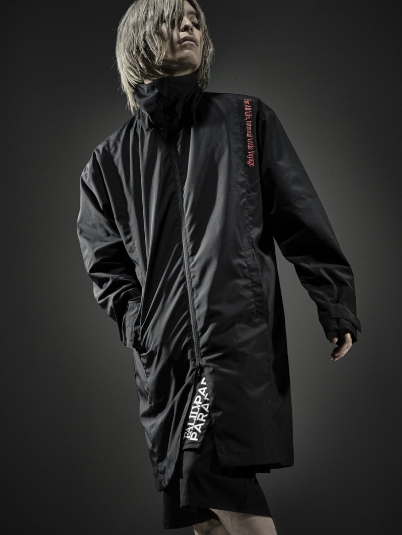 2018SPRING ×PARADOX LONG BLOUSON【BLACK】