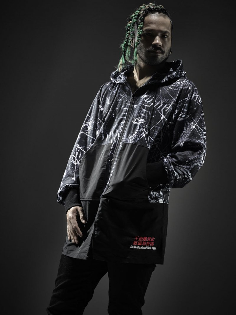 2018SPRING ×PARADOX GRAPHIC LONG PARKA【DRAGON】
