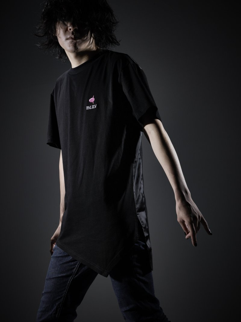 2018 SUMMER CUTTING LONG S/S TEE (B-BLACK)