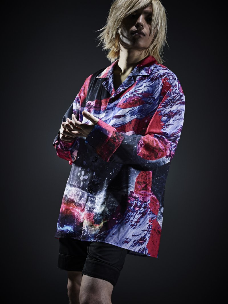 2018 AUTUMN GRAPHIC WIDE SHIRTS (MOUNTAIN)