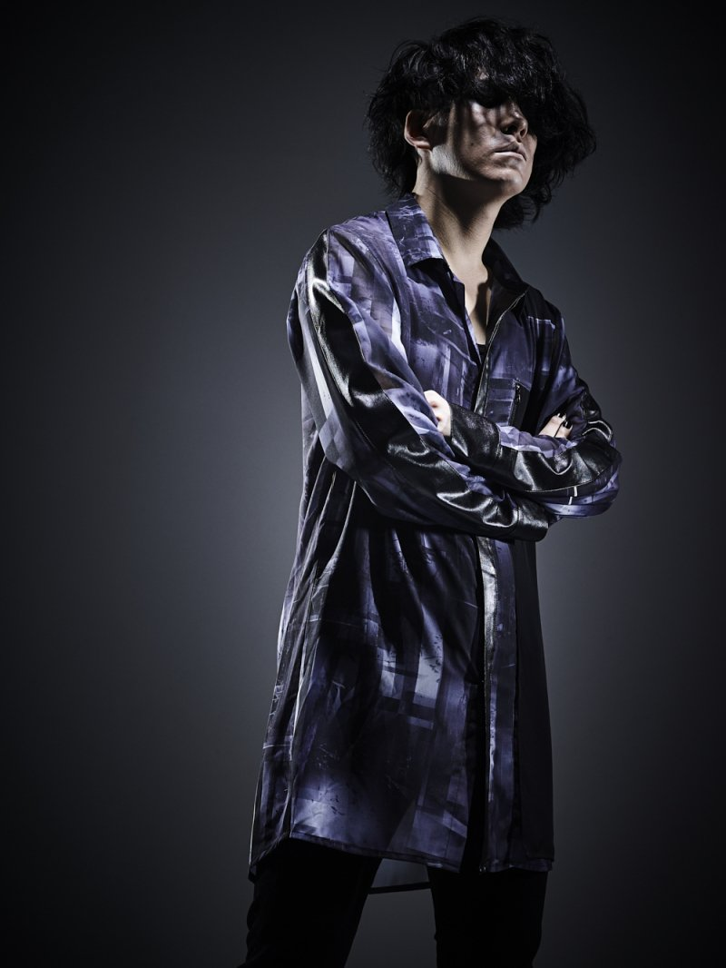 2018 AUTUMN OVERLAP LONG SHIRTS (ABYSS)