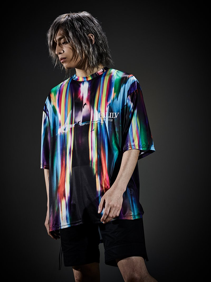 2019 AUTUMN GRAPHIC BIG TEE (PRIZM)