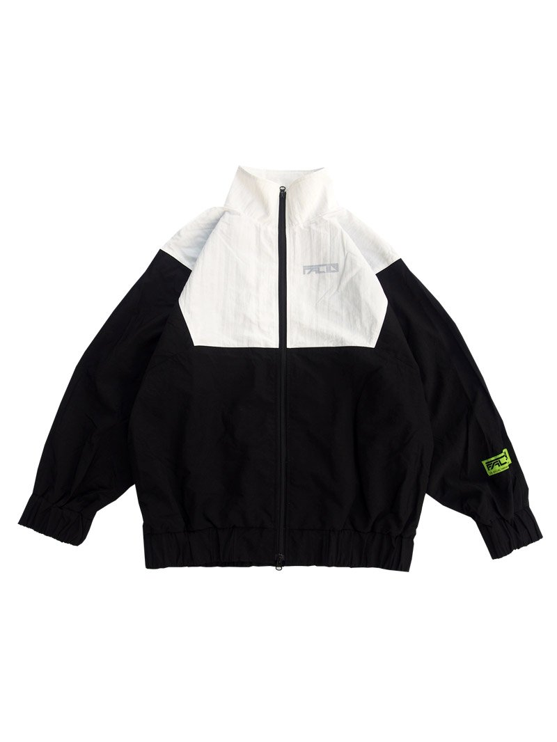 2020 SPRING OVERSIZED TRACK JACKET (BLACK)