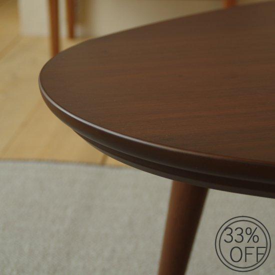 メーカー協力オープニング特価 Denby デンビー 110 こたつテーブル Takatatsu ウォールナット 国産 タカタツ ローテーブル 在庫限り 北欧テイスト 00101…