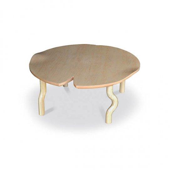 Princess Suiren ひめスイレン 90丸 ローテーブル Takatatsu メープル材 3D加工 かわいい円形のこたつ 日本製 タカタツ 0010100 …