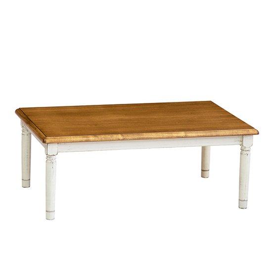 Favori 天然木材 こたつ 120 こたつテーブル ポプラ突板 ヴィンテージ調のテーブル 可愛らしい脚 ローテーブルにも  国産品 エンブレムクラッシック 201…
