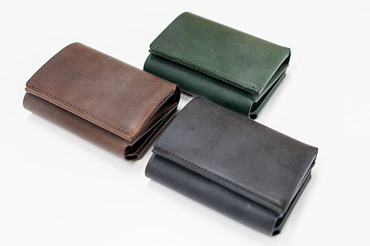 fabrik tri fold wallet レザーウォレット 革 ファブリック