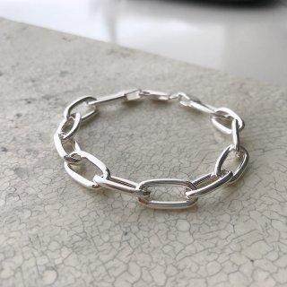 silver925 chain brace † oval