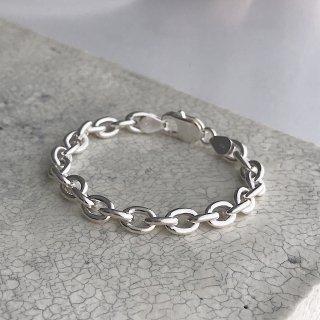 silver925 chain brace † round
