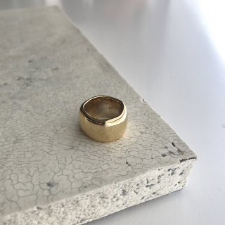 curvy ring † gold