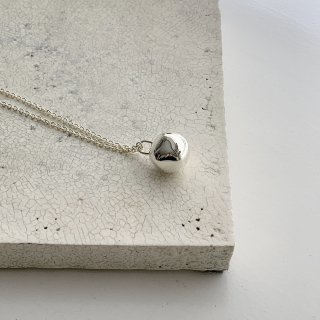 wonky ball necklace † silver 【6/1予約開始 7月初旬お届け予定】