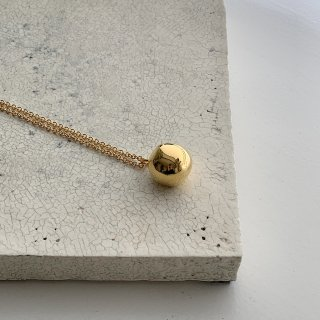 wonky ball necklace † gold●【6/1予約開始 7月初旬お届け予定】