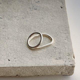 loop ring 2  † silver