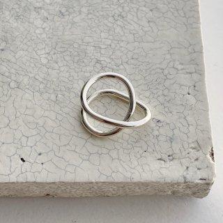 loop ring 3  † silver
