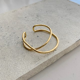 loop bangle † gold
