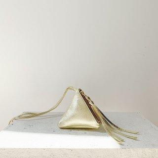 mini triangle gold
