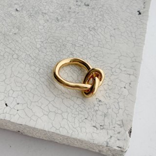 knot ring † gold