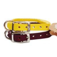 犬用 首輪 革 レザー ラウンド カラー Auburn オーバーン 海外直輸入