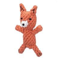 犬用おもちゃ ロープトイ JAX & BONES ジャックス&ボーンズ キツネ 海外直輸入