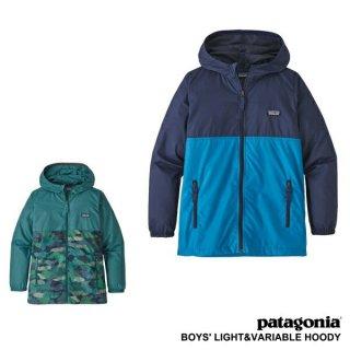 《Patagonia パタゴニア》【国内正規代理店】Boys' Light & Variable Hoody ボーイズライト&バリアブルフーディ