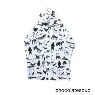 【chocolatesoup チョコレートスープ】GEOMETRY RAINCOAT ANIMAL 100.110.120cm