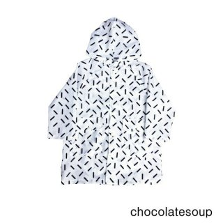 【chocolatesoup チョコレートスープ】GEOMETRY RAINCOAT GRID 100.110.120cm