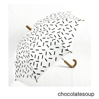 【chocolatesoup チョコレートスープ】GEOMETRY UMBRELLA STICK 45.50cm