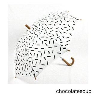 【chocolatesoup チョコレートスープ】GEOMETRY UMBRELLA STICK 45.50cm