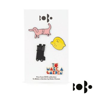 【SALE】《BOBO CHOSES/ボボショセス》 Pins pack×4