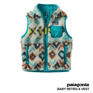 [SALE 30%OFF]《Patagonia パタゴニア》BABY RETRO-X VEST/ベビーレトロXベスト