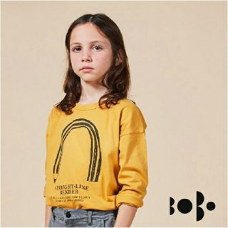 《BOBO CHOSES ボボショセス》 長袖Tシャツ Straight Line Bender Long Sleeve T-Shits