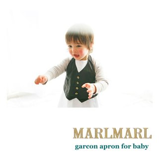【MARLMARL/マールマール】garcon apron baby