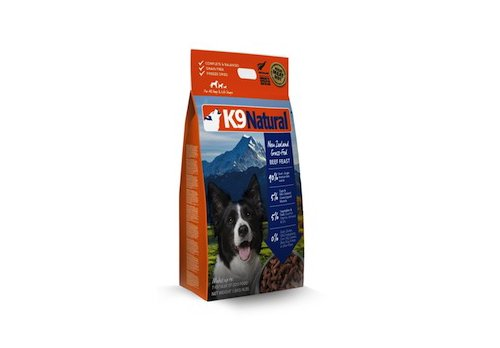 【K9ナチュラル・ビーフフィースト 3.6kg】(お水、もしくはぬるま湯で戻すと14.4kg)