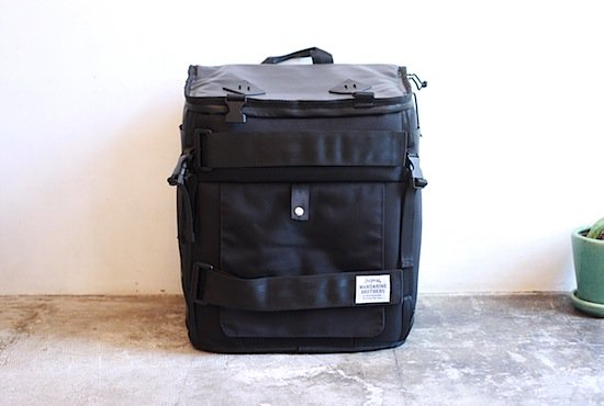 mandarine brothers【スカウトキャリーバッグパック SCOUT CARRY BACKPACK BLACK】