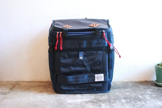 mandarine brothers【スカウトキャリーバッグパック SCOUT CARRY BACKPACK NAVY】