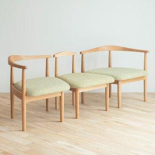 秋岡芳夫・組み合わせて使える親子の椅子(セット)