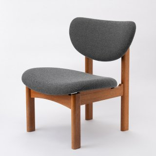 [中古再生品]トヨさんの椅子・グレー(旧型・Cランク-2)