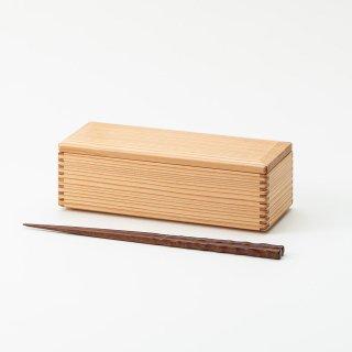 黒木クラフト工房・みやざき杉のスリム弁当箱(19×7.5cm)