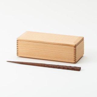 黒木クラフト工房・みやざき杉のスリム弁当箱(19×8.5cm)