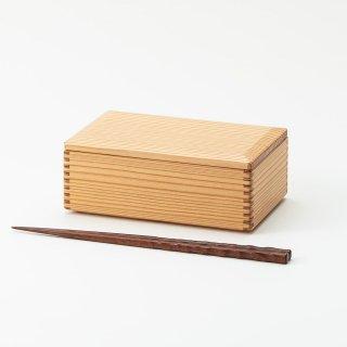 黒木クラフト工房・みやざき杉の弁当箱・中(16×10cm)