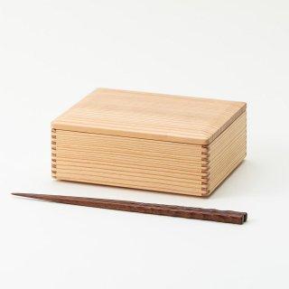 黒木クラフト工房・みやざき杉の折箱5寸(16×13cm)