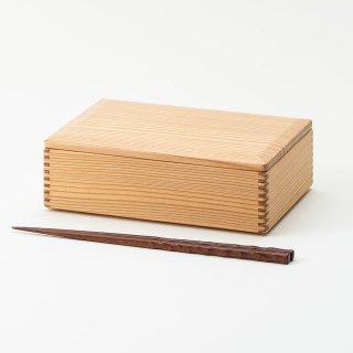 黒木クラフト工房・みやざき杉の折箱6寸(19×13cm)